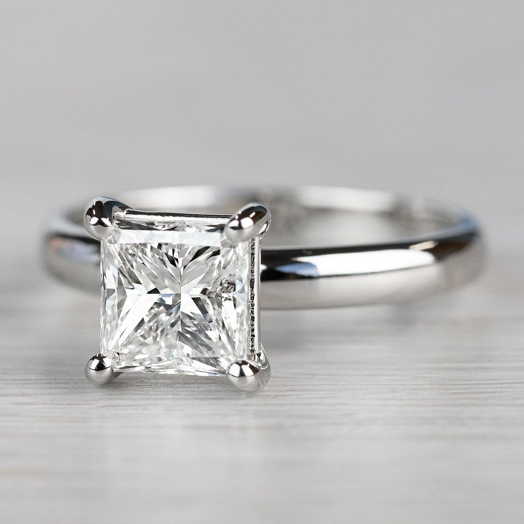 Brilliant Comfort-Fit Solitaire 2 Carat Diamond Ring angle 2