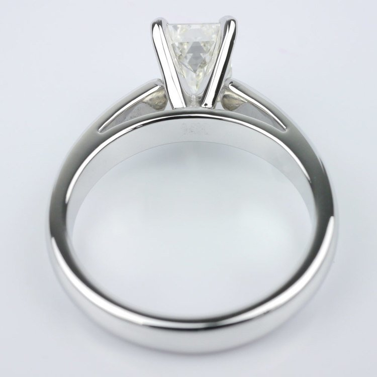 Cathedral Solitaire Engagement Ring angle 4