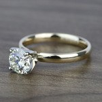 Classic 1.20 Carat Round Solitaire Diamond Engagement Ring - small angle 2