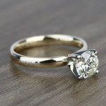 Classic 1.20 Carat Round Solitaire Diamond Engagement Ring - small angle 3