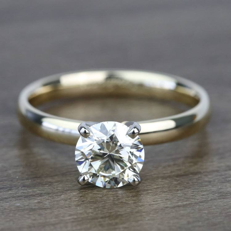 Classic 1.20 Carat Round Solitaire Diamond Engagement Ring