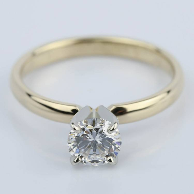 Classic Round Diamond Solitaire Engagement Ring (3/4 ct.)