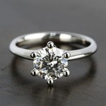 Classic D Color Diamond Engagement Ring (1.66 ct.) - small