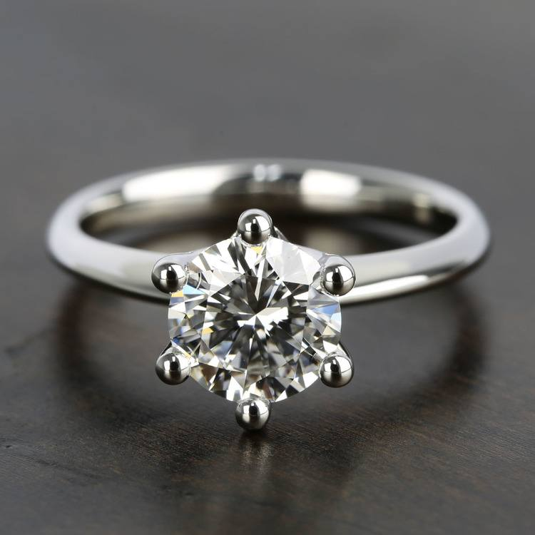Classic D Color Diamond Engagement Ring (1.66 ct.)