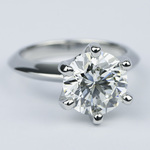 Classic Six-Prong Solitaire Diamond Engagement Ring (3.40 ct.) - small angle 3