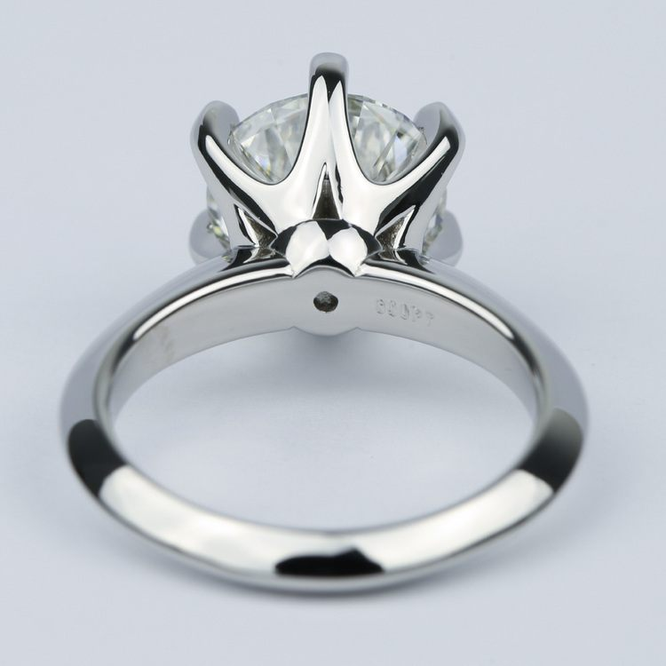 Classic Six-Prong Solitaire Diamond Engagement Ring (3.40 ct.) angle 4