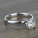 Classic Solitaire 0.81 Carat Round Loose Diamond - small angle 3