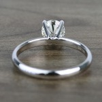 Classic Solitaire 0.81 Carat Round Loose Diamond - small angle 4