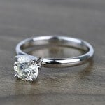 Classic Solitaire 0.81 Carat Round Loose Diamond - small angle 2