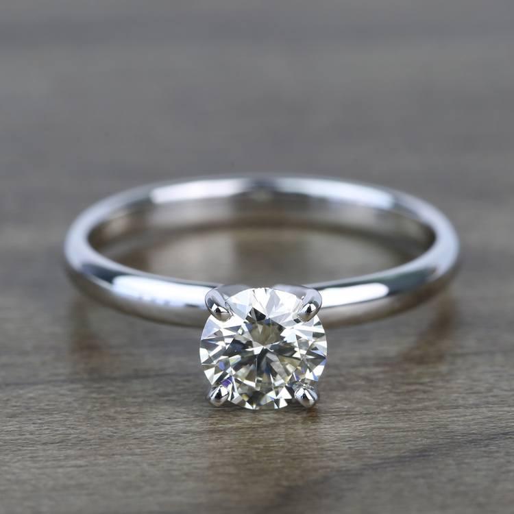 Classic Solitaire 0.81 Carat Round Loose Diamond