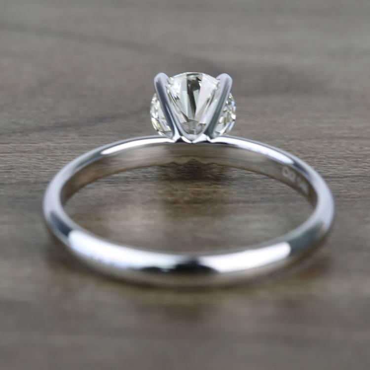 Classic Solitaire 0.81 Carat Round Loose Diamond angle 4