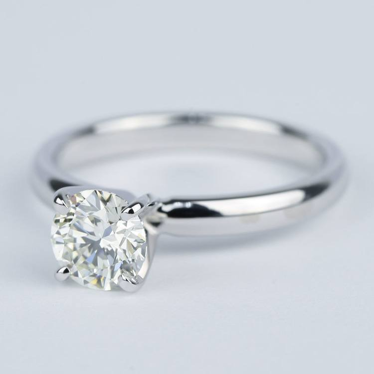 Classic Solitaire Engagement Ring (0.81 ct.) angle 2