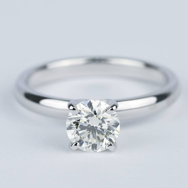 Classic Solitaire Engagement Ring (0.81 ct.)