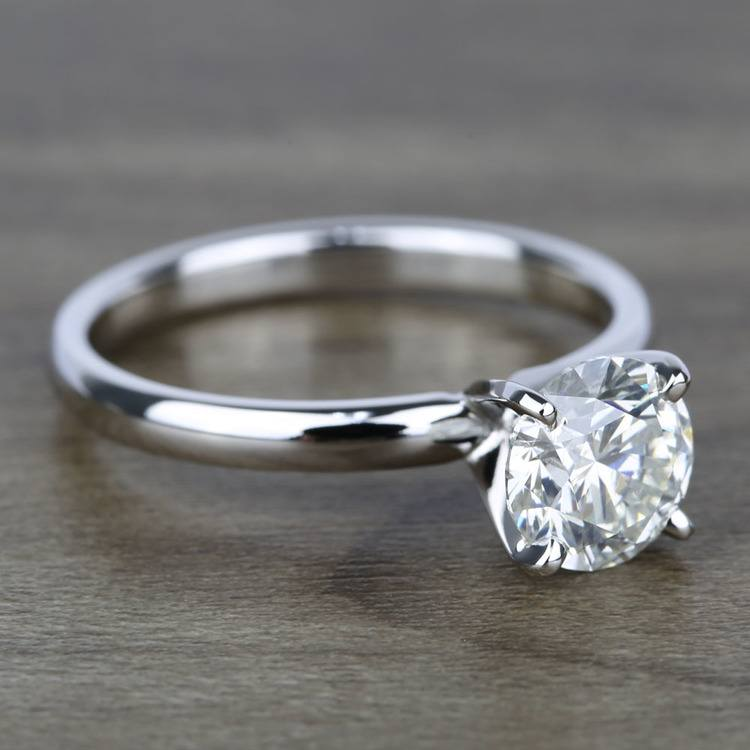 Classic Round Brilliant Solitaire Diamond Engagement Ring (1.79 ct.) angle 3