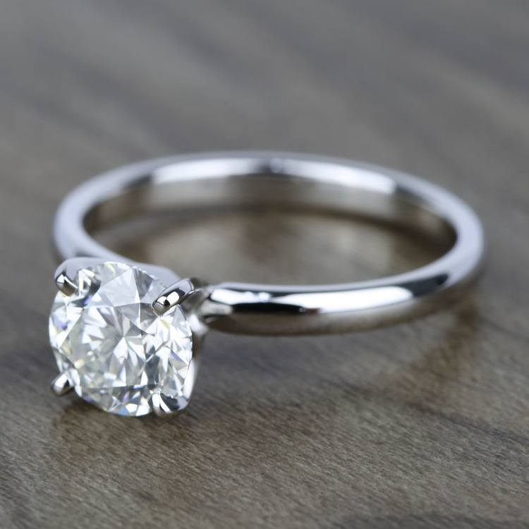 Classic Round Brilliant Solitaire Diamond Engagement Ring (1.79 ct.) angle 2