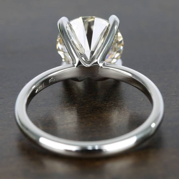 Classic M-Color Diamond Solitaire Ring (2.50 Carat) angle 4