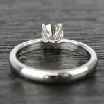 Classic Solitaire Half Carat Round Diamond Engagement Ring - small angle 4