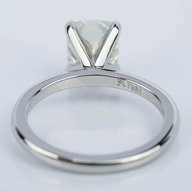 Claw Prong Comfort-Fit Solitaire Cushion Diamond Engagement Ring (1.50 ct.) angle 4