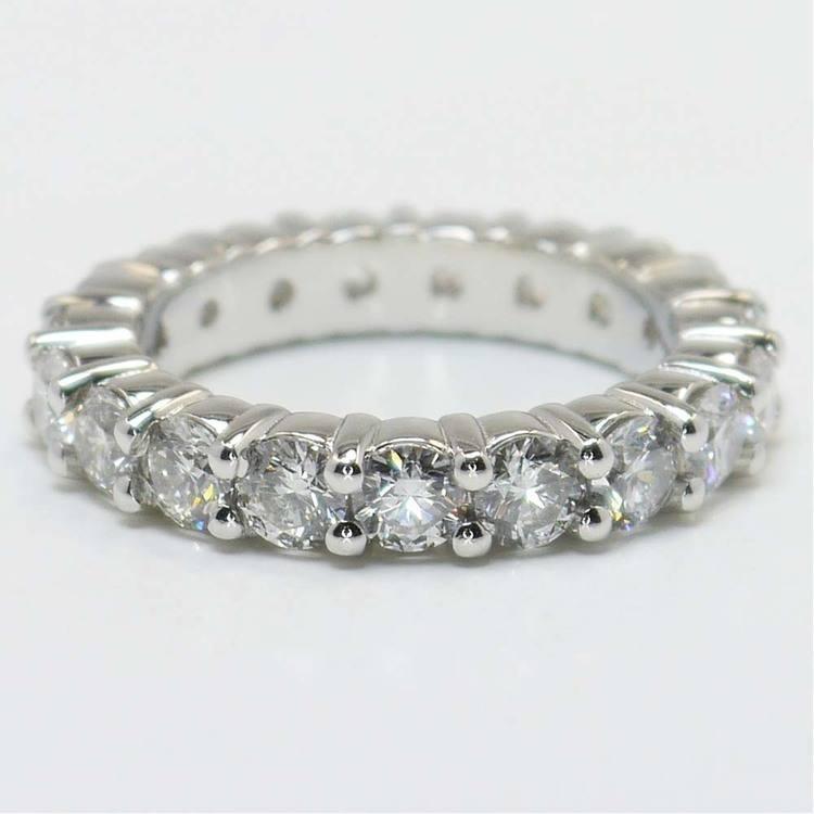 7.5 Carat Round Diamond Eternity Band