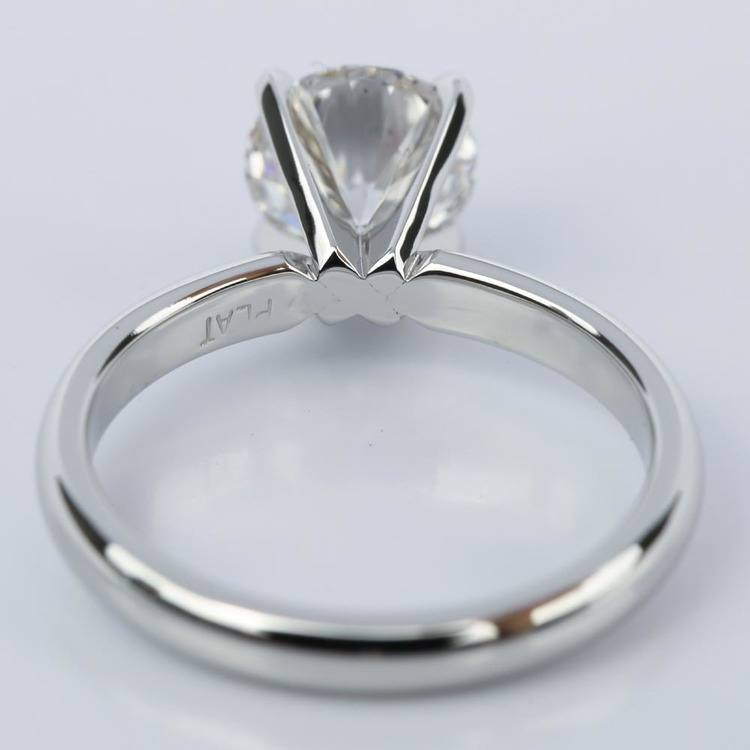 Comfort-Fit Round Diamond Solitaire Engagement Ring (1.24 ct.) angle 4