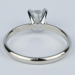 Cushion Diamond Solitaire Engagement Ring (0.96 ct.) - small angle 4