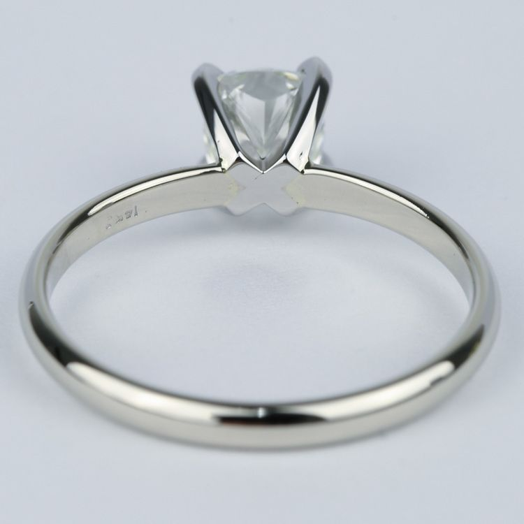 Cushion Diamond Solitaire Engagement Ring (0.96 ct.) angle 4