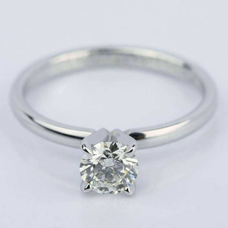 Comfort-Fit Solitaire Engagement Ring (0.70 ct.)