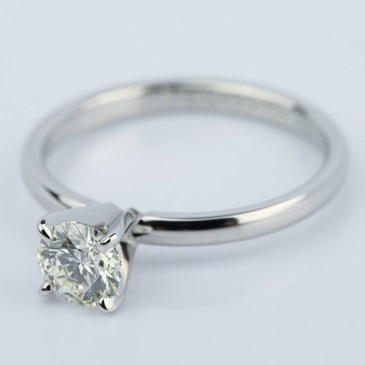 Comfort-Fit Solitaire Engagement Ring (0.70 ct.) angle 2