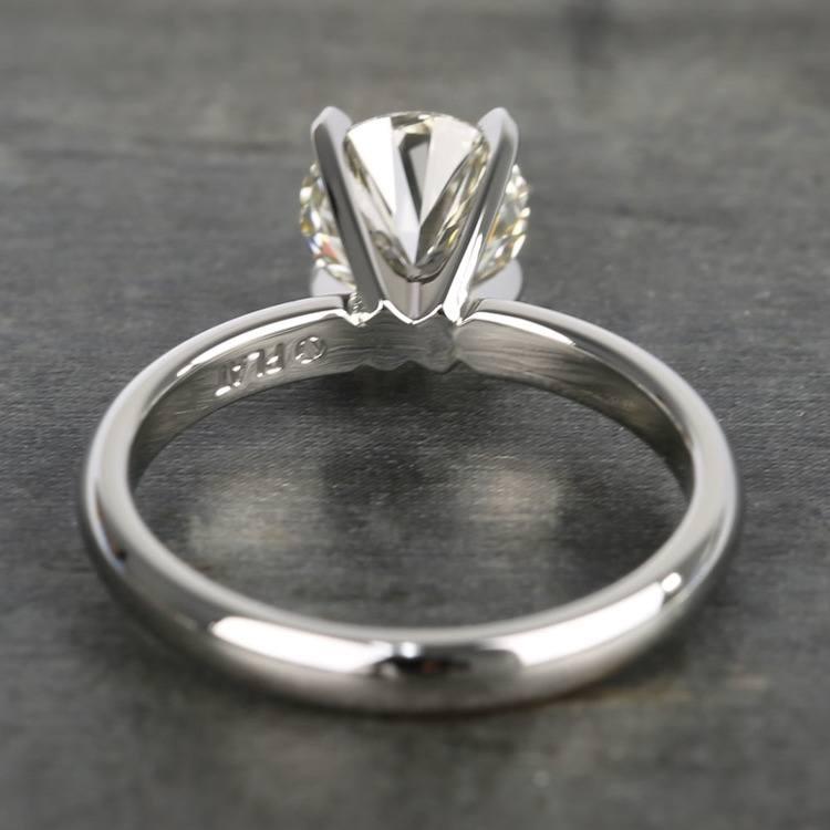 1.26 Carat Brilliant Round-Cut Diamond Engagement Ring angle 4