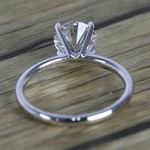 1.50 Carat Round Cut Diamond with White Gold Solitaire Setting - small angle 4