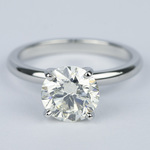 Ideal Round Diamond Solitaire Engagement Ring (1.75 Carat) - small