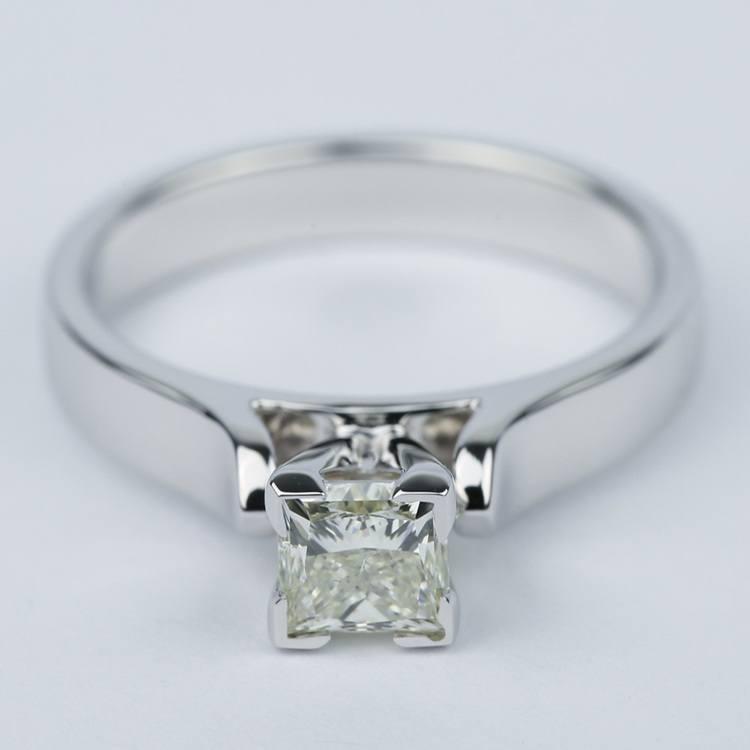 Contour Princess Diamond Engagement Ring (0.80 ct.)
