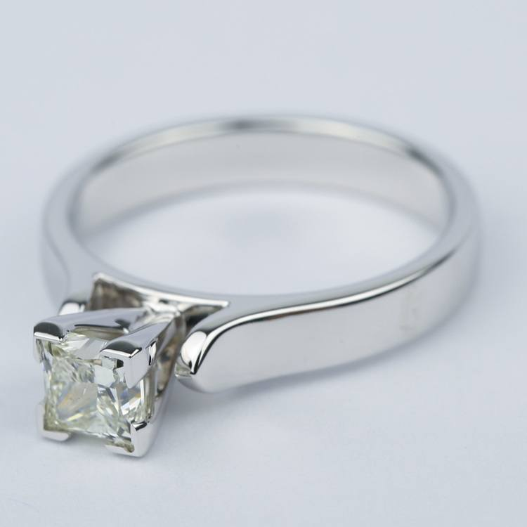 Contour Princess Diamond Engagement Ring (0.80 ct.) angle 2