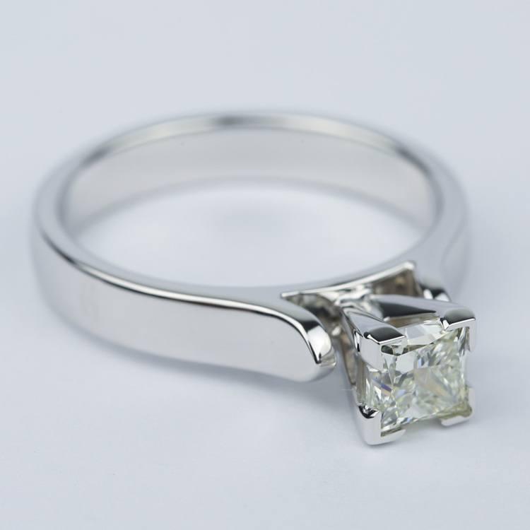 Contour Princess Diamond Engagement Ring (0.80 ct.) angle 3