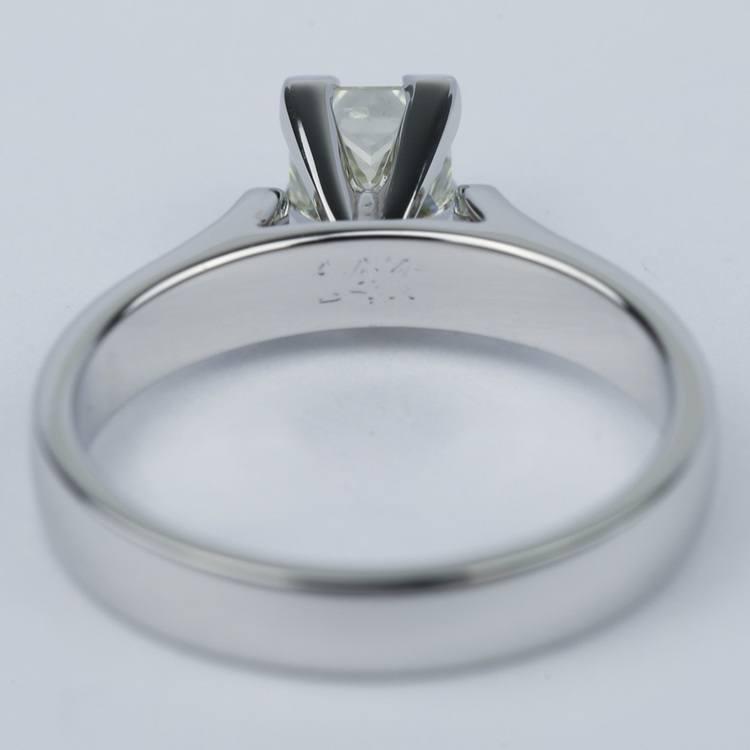 Contour Princess Diamond Engagement Ring (0.80 ct.) angle 4