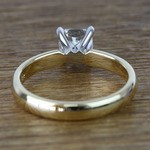 Flawless Cushion Solitaire Diamond Engagement Ring (1 Carat) - small angle 4