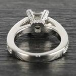 Custom Princess-Cut Diamond Engagement Ring (1.50 Carat) - small angle 4