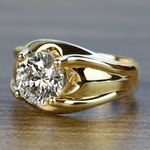 Custom 2.50 Carat Round Diamond Solitaire Engagement Ring - small angle 2