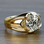 Custom 2.50 Carat Round Diamond Solitaire Engagement Ring - small angle 3