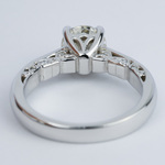 Antique Side-Scroll Diamond Engagement Ring (1.50 Carat) - small angle 4
