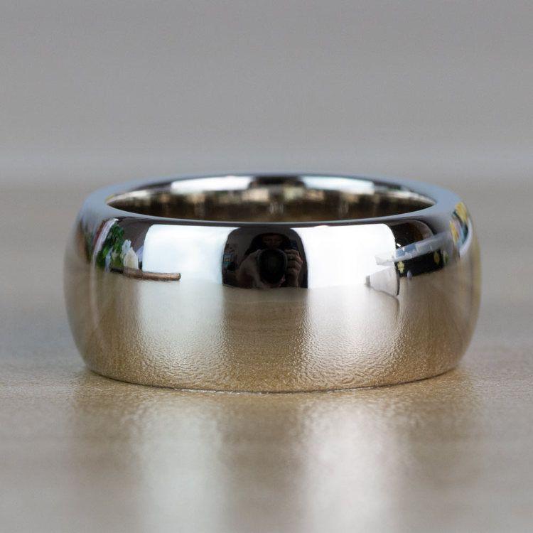 Custom Gemstone And Diamond Mens Engagement Ring angle 4