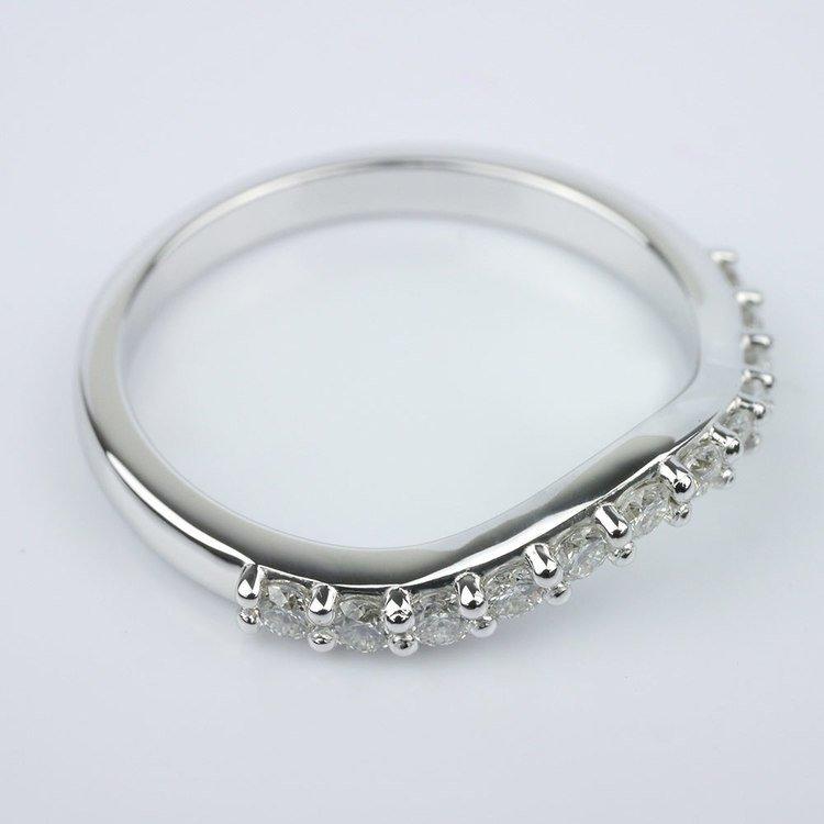 Custom Matching Diamond Band angle 3