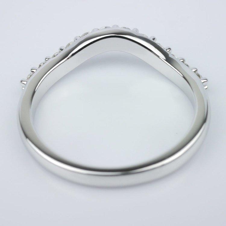 Custom Matching Diamond Band angle 4
