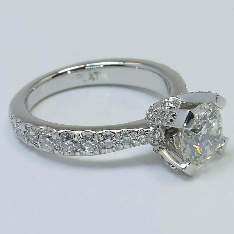 Custom Platinum Ring angle 3