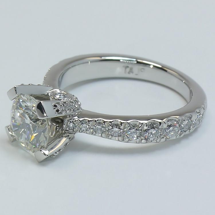 Custom Platinum Ring angle 2