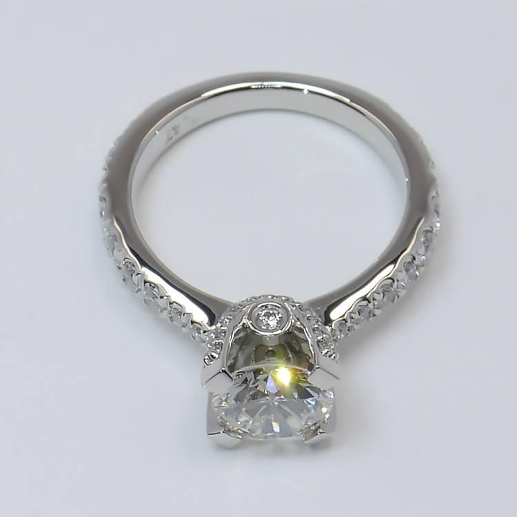 Custom Platinum Ring angle 4