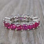 Custom Ravishing Ruby Eternity Band - small