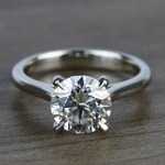 Custom Solitaire 1.75 Carat Round Diamond Engagement Ring - small