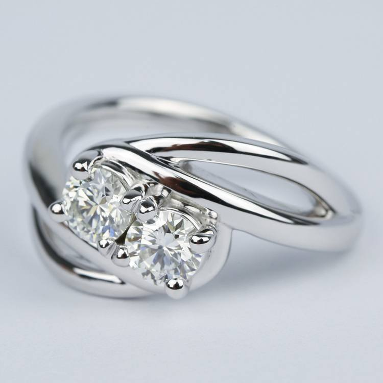 engagement top unique wedding buy peora silver rated raised sterling ring w attachment of twisted rings solitaire twin