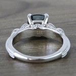 Custom Vintage London Blue Topaz Engagement Ring - small angle 4